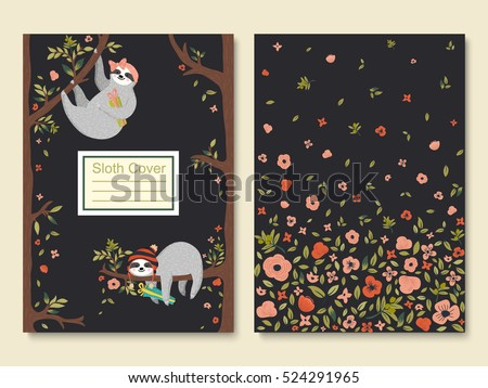 sloth vector download free vector art stock graphics images