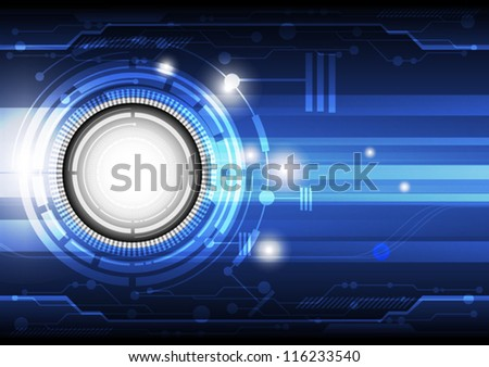 vector future communication technology, electronic background