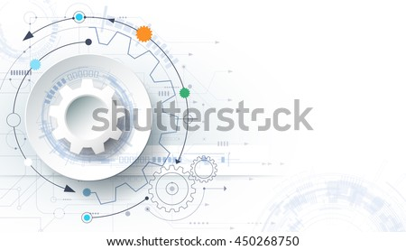 vector futuristic technology