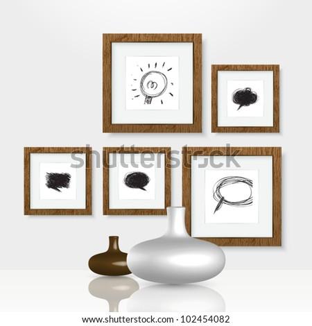 Vector Gallery - stock vector