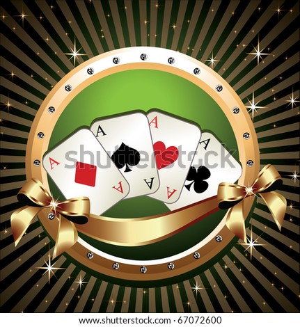 Vector Gambling Illustration