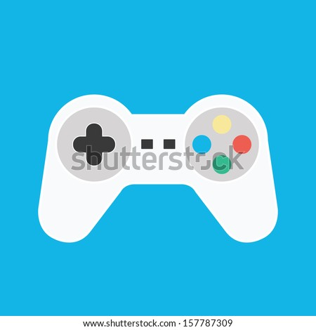 Vector Gamepad Icon - 157787309 : Shutterstock