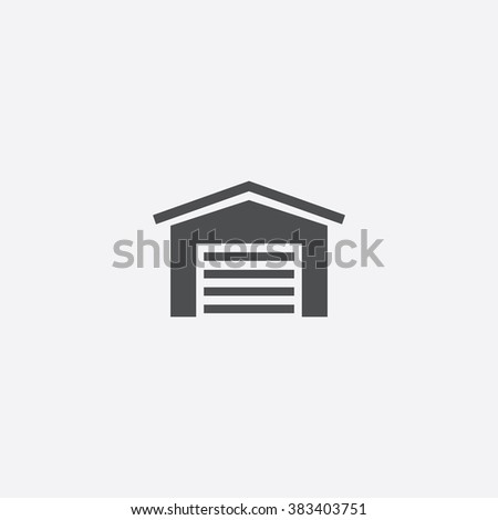 Vector garage Icon
