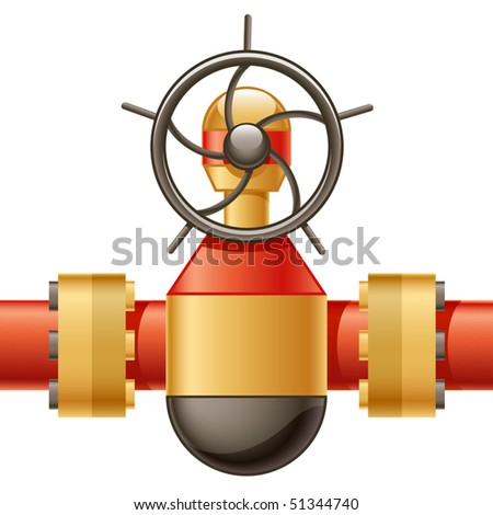 Vector Gas Pipeline Gate Valve
