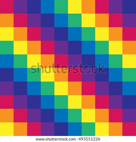 Vector gay flag. Gay pride flag. Flag of gay love. Gay pride. Gay pride flag.