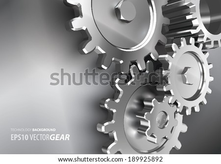 vector gear background