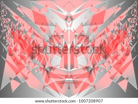 vector geometric abstraction