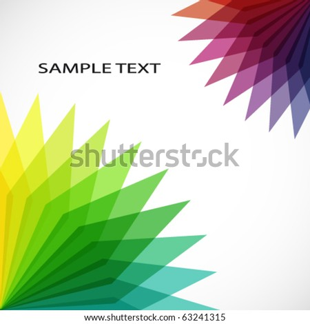 Vector geometric background.
