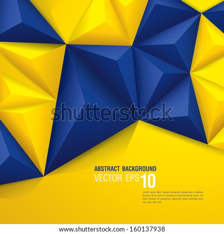 stock-vector-vector-geometric-background-in-swedish-flag-concept-can-be-used-in-cover-design-book-design