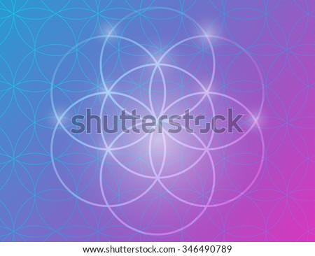 vector geometric background is