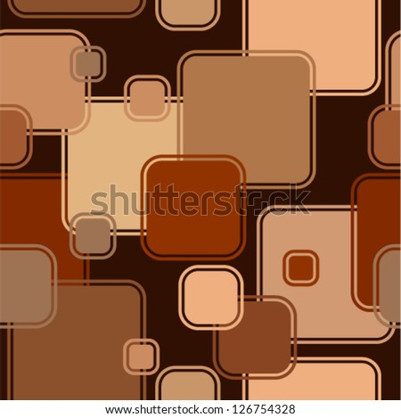 Vector geometric background (seamless) - stock vector