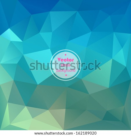 Vector geometric pattern with geometric shapes rhombus That square design has the ability to be repeated or tiled without visible seams EPS10