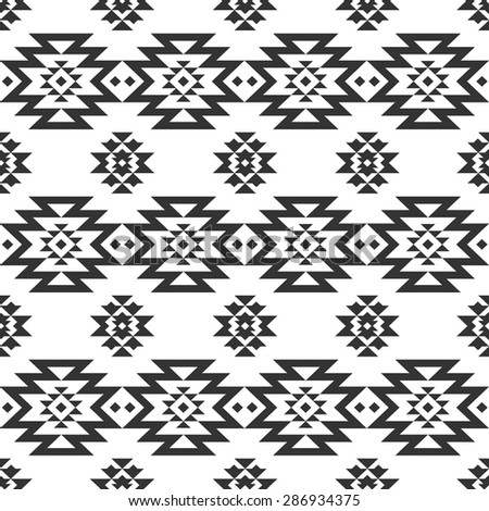 Navajo designs patterns Antique Navajo Rug Vector Geometric Seamless Pattern Tribal Background Ethnic Collection Navajo Style On White Background Ez Canvas Vector Geometric Seamless Pattern Tribal Background Ethnic