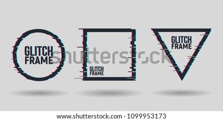 vector geometric shapes frames