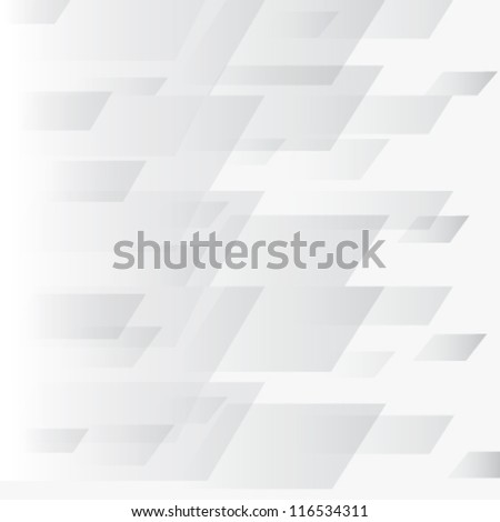 Vector geometric white background