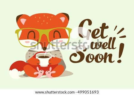 vector get well soon