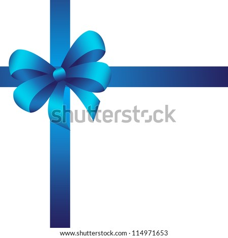 Blue Ribbons Background Blue Ribbon Background