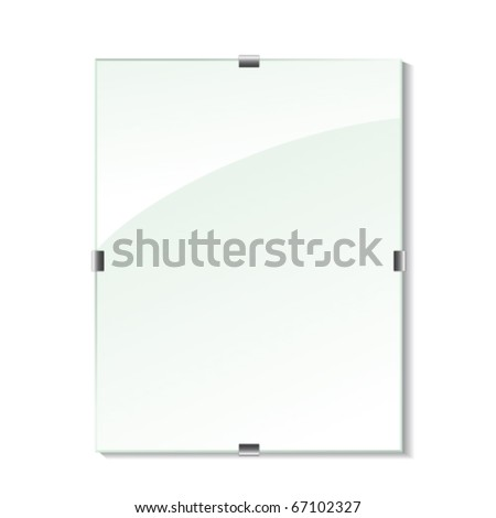 Vector glass frame
