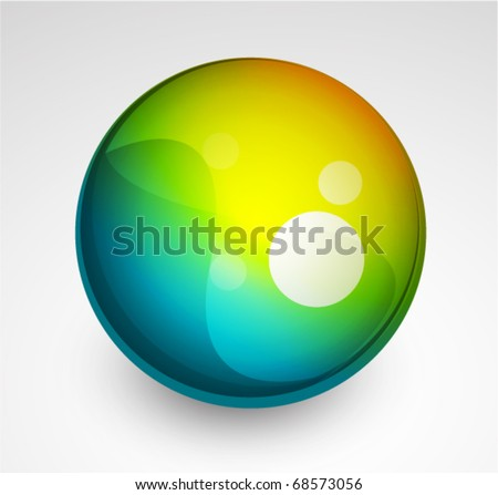 Vector glass sphere
