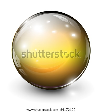 vector glass sphere  ball