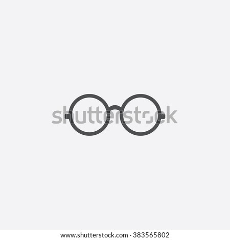 Shutterstock Vector glasses Icon