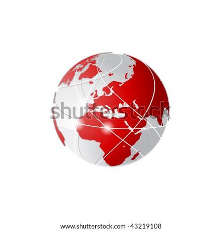 Vector Globe Concept