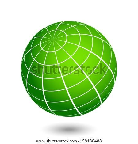 Vector globe illustration
