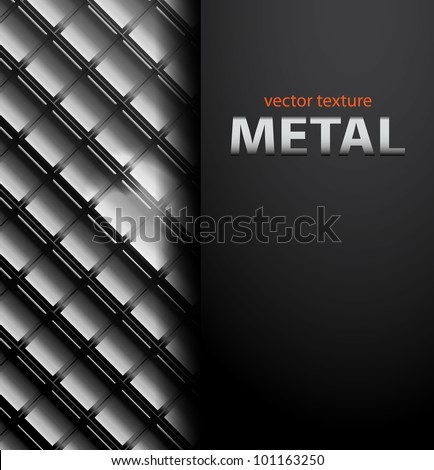 vector glossy background metal