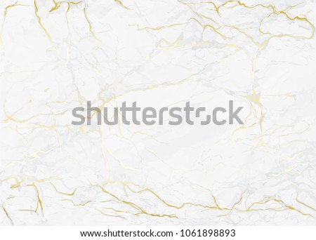 Vector gold marble texture pattern background with hight resolution