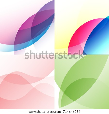 vector gradient curve wave , shape abstract background
