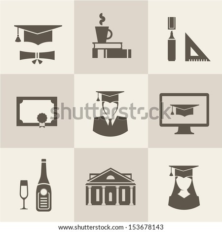 Vector graduation set