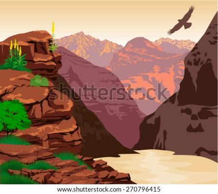 vector grand canyon national