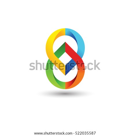 vector graphic abstract logo