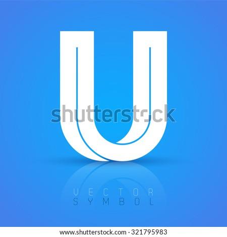vector graphic elegant font