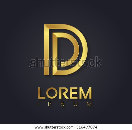 vector graphic elegant golden