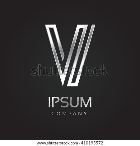 vector graphic elegant silver