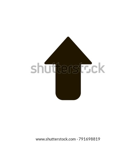 vector graphic illustration, arrow icon, pointer cursor notation