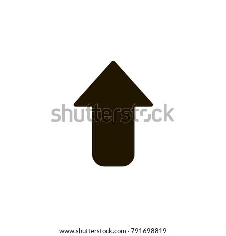vector graphic illustration, arrow icon, pointer cursor notation