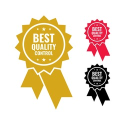 vector graphic rated best quality control pack for the best quality mark
