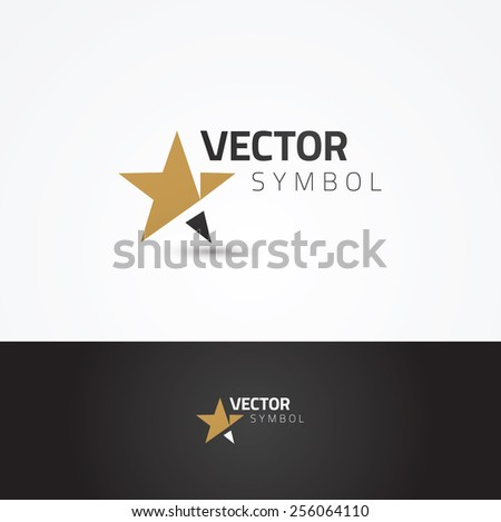 vector graphic symbol with