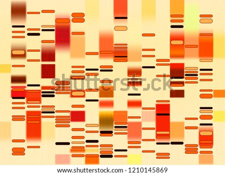 stock-vector-vector-graphic-template-of-beige-hues-monochromatic-big-genomic-data-visualization-dna-test-and
