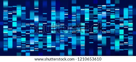 stock-vector-vector-graphic-template-of-blue-hues-monochromatic-big-genomic-data-visualization-dna-test-and