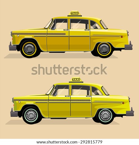 vector graphic yellow  retro