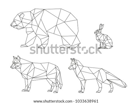 vector graphics lines of