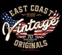 vector graphics,vintage eagle graphics