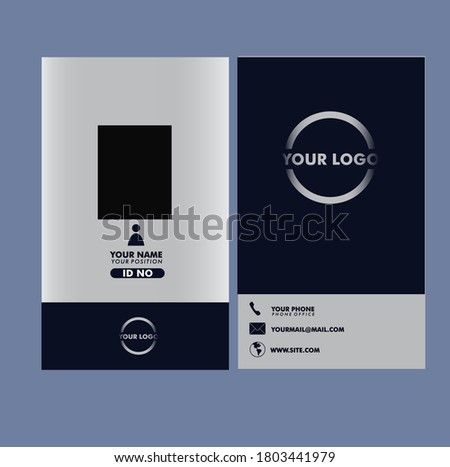 vector grapich of bussines card