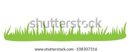 vector grass ornament
