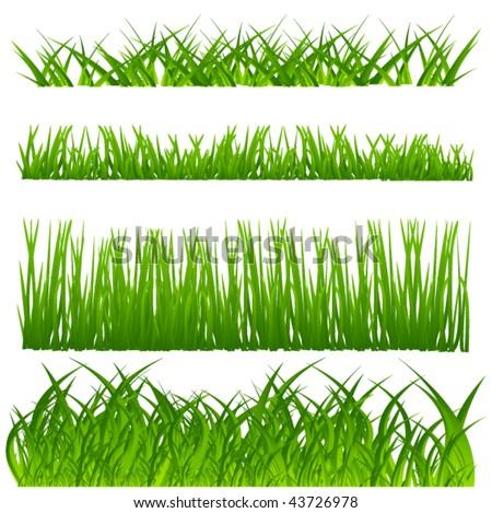 vector grass set