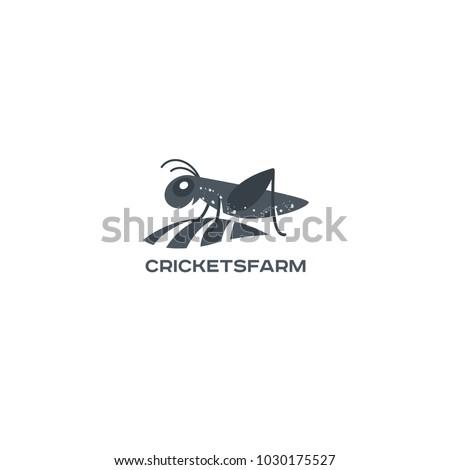 vector grasshopper logo brand