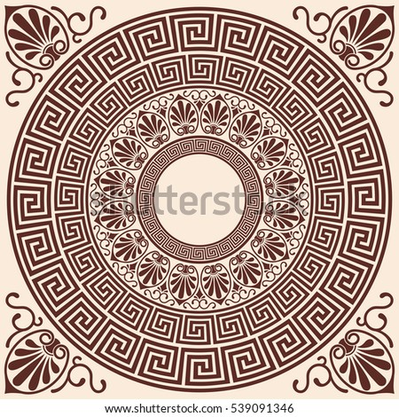 vector greek style background....